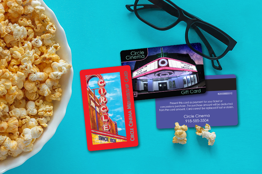 Circle Cinema Gift Card and Membership Card