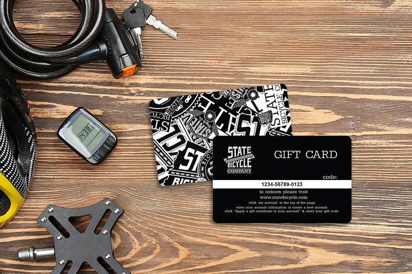 Superb gift card design