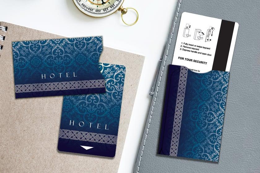 Hotel Key Card and Hotel Key Card Sleeves