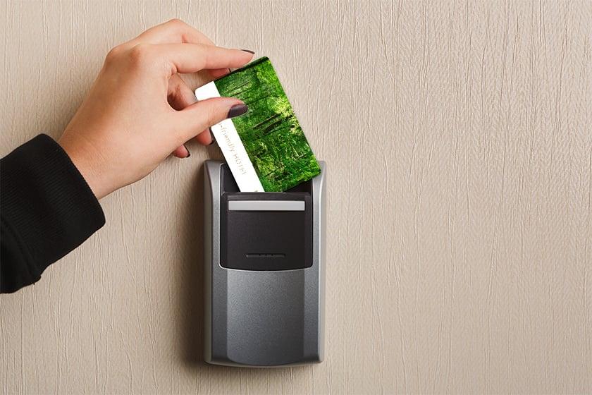 An Eye-Catching Hotel Key Card Design