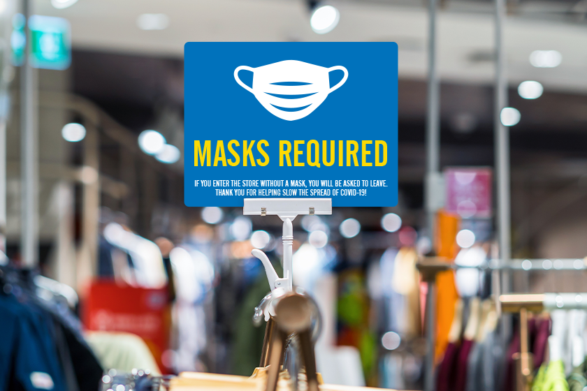 Masks are required statewide in New York