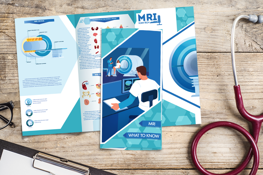 Medical Brochure for a doctor's office or hospital