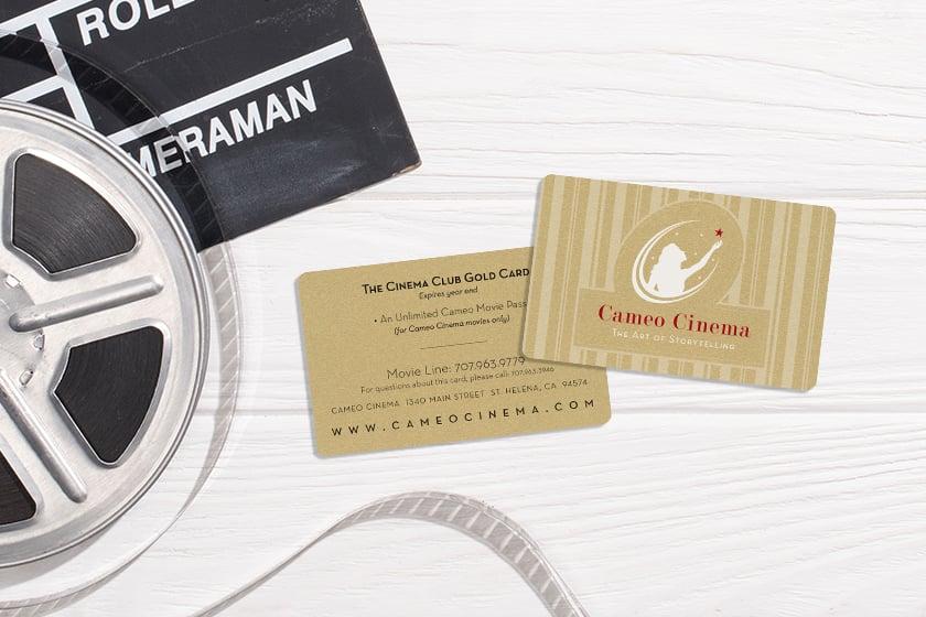 Cinema Rewards Card For Movie Theatre