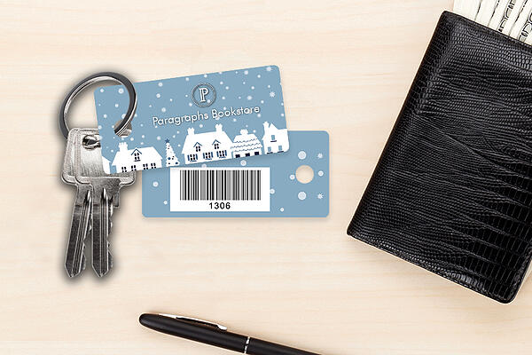 Customer Loyalty Key Tags for Paragraphs Book Stores