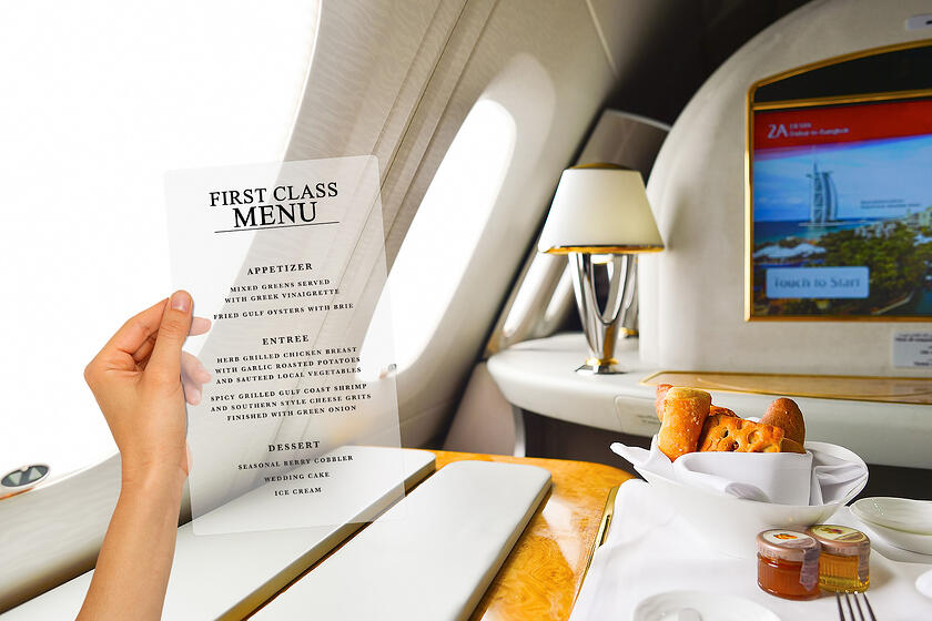 Airline Menu Printing for your Airline Marketing Strategies