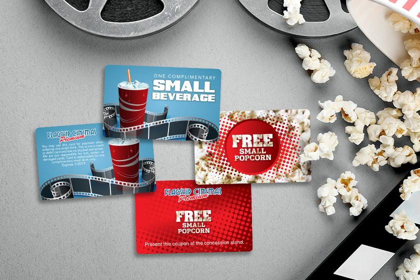 Cinema Vouchers For Movie Theatre