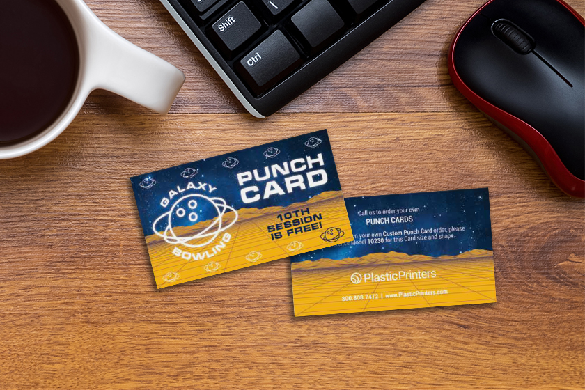 Punch cards help track gym member loyalty