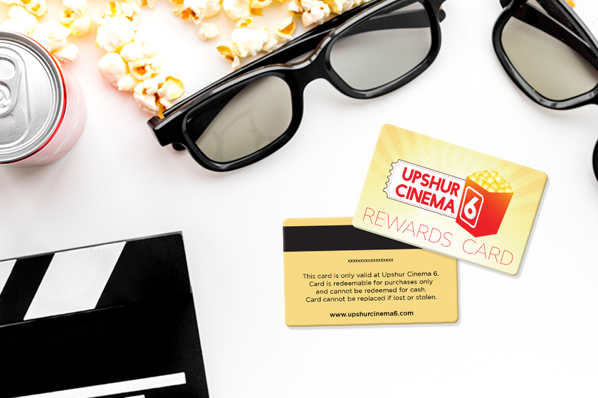 Cinema Rewards Card for Upshur Cinema