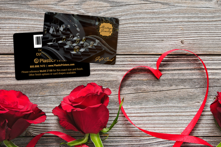 Custom gift cards for a jewelry store