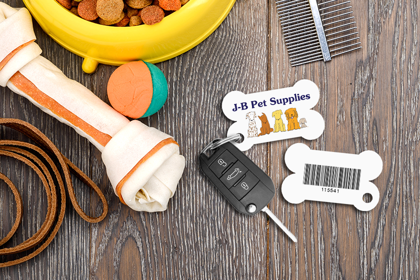 Membership Key Tags for your Pet Shop