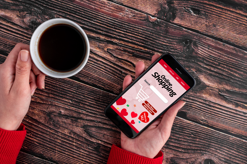 Update your website content before Valentine's Day