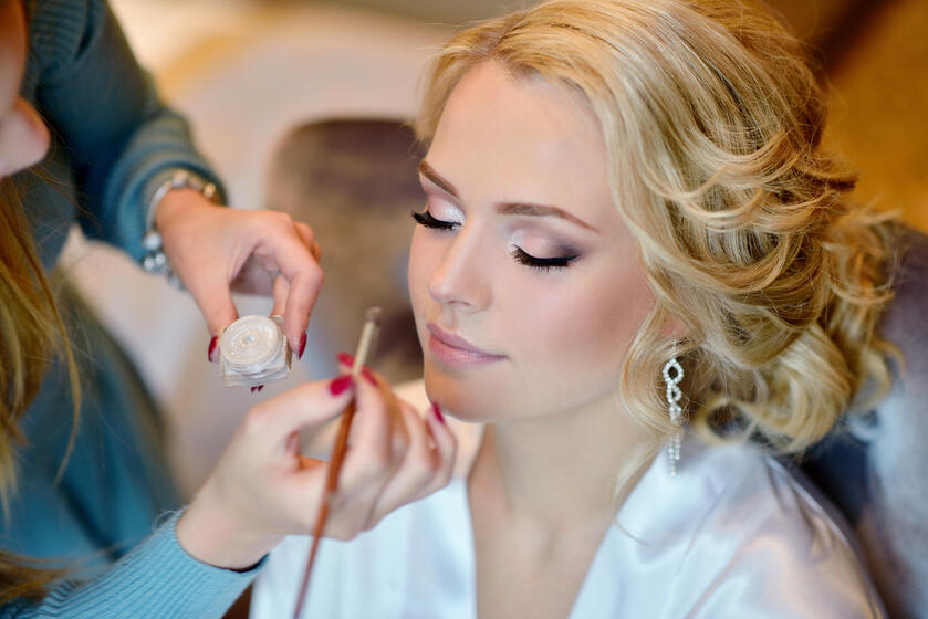 Hair and Makeup Trials from a Wedding Hairstylist