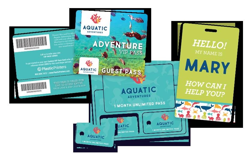 Aquarium Passes & Employee Badges