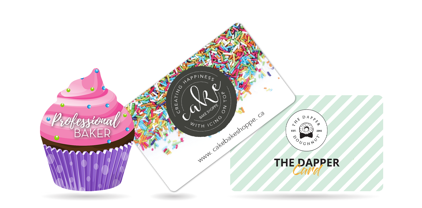 Cupcake Business Card and Gift Cards