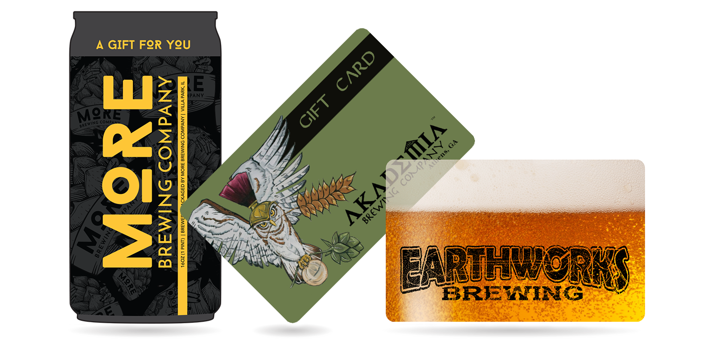 Enhance your Brewery Marketing with Brewery Gift Cards