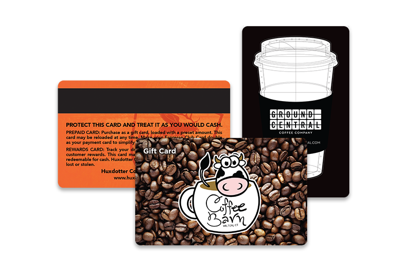 Coffee Gift Cards for your Coffee House, Bistro and Coffee Club