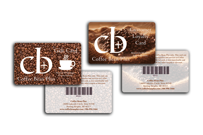 Coffee Loyalty Cards & Gift Cards for Coffee Bean Plus