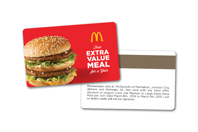 Enhance your Fast Food Marketing with Promo Cards