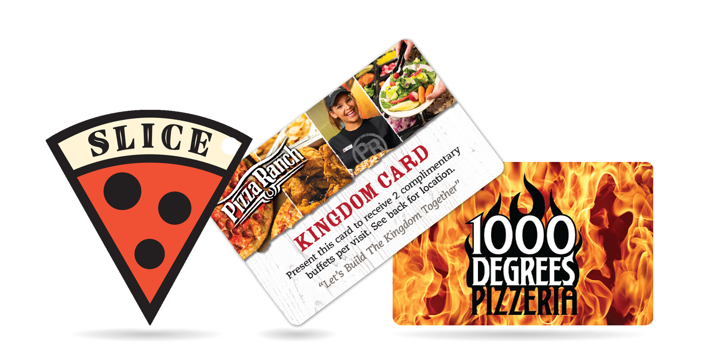 Pizza Card for your Marketing Efforts