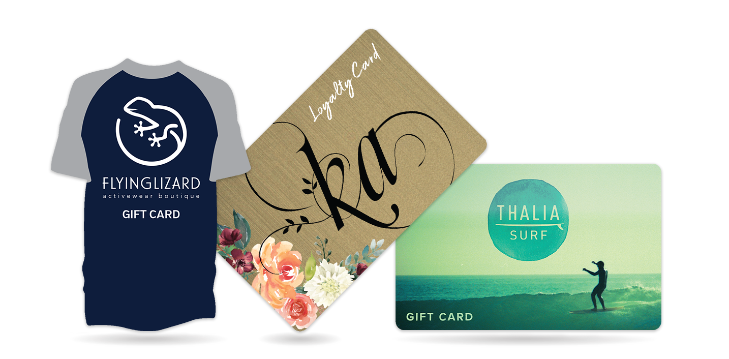 Retail Gift Cards and Store Loyalty Cards