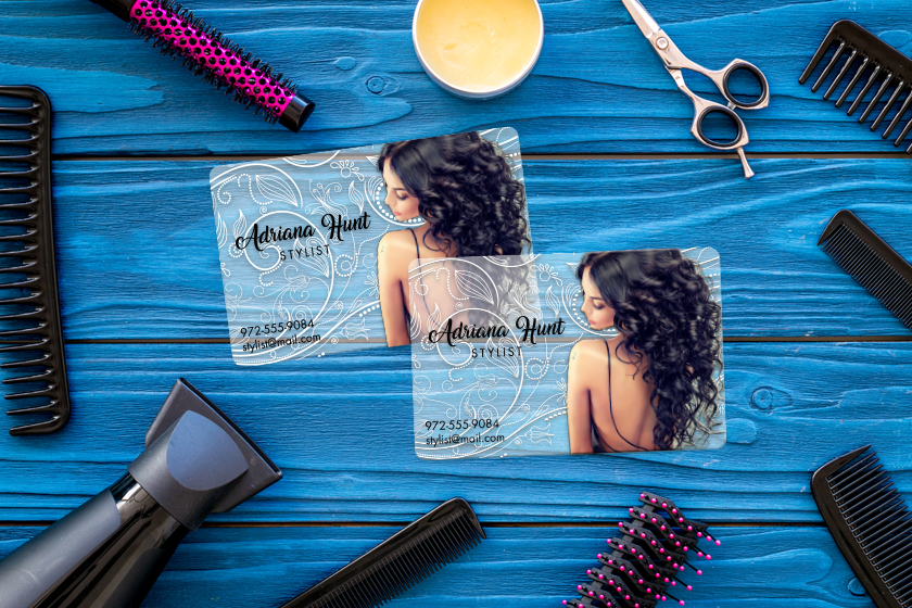 Salon Business Cards for Bridal Marketing