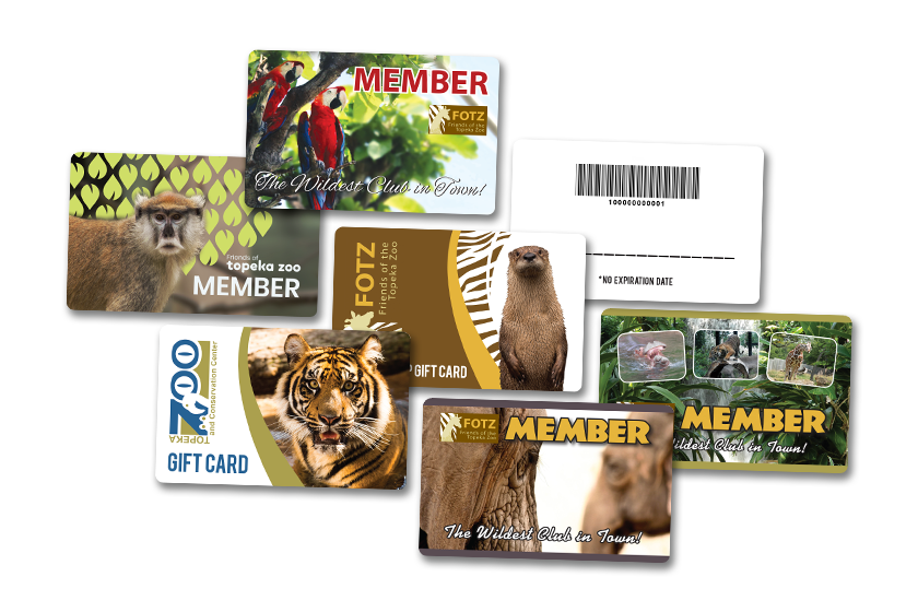 Gift Card and Membership Card Printing for Zoos