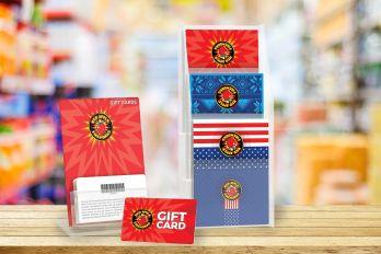 Custom gift card holders
