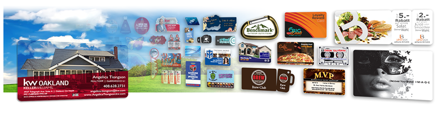 Looking for a cool business card? Consider a clear plastic card, transparent, foil, custom shaped and more.