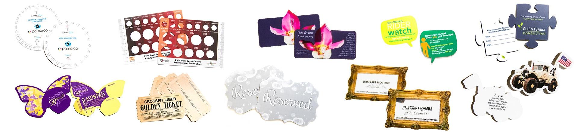 10 Creative Custom Die Cut Cards