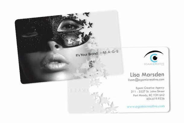 Egami Style Clear Business Card