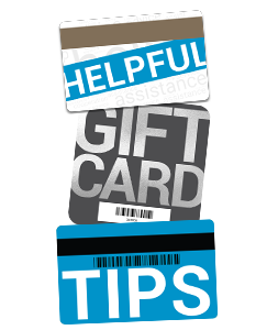 Helpful Gift Card Tips for business and gift card printing