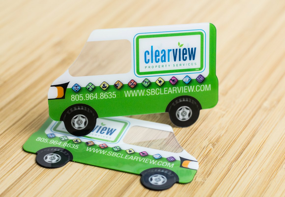 Truck Shaped Business Cards | Arts - Arts
