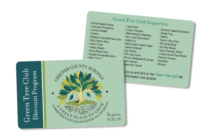 Fundraising Discount Card for your High School