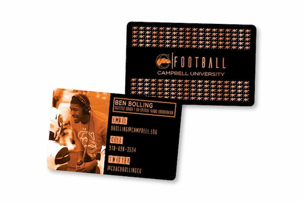 Business Card with Foil