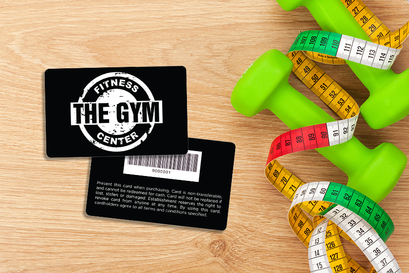 Gym Membership Cards for your Fitness Center