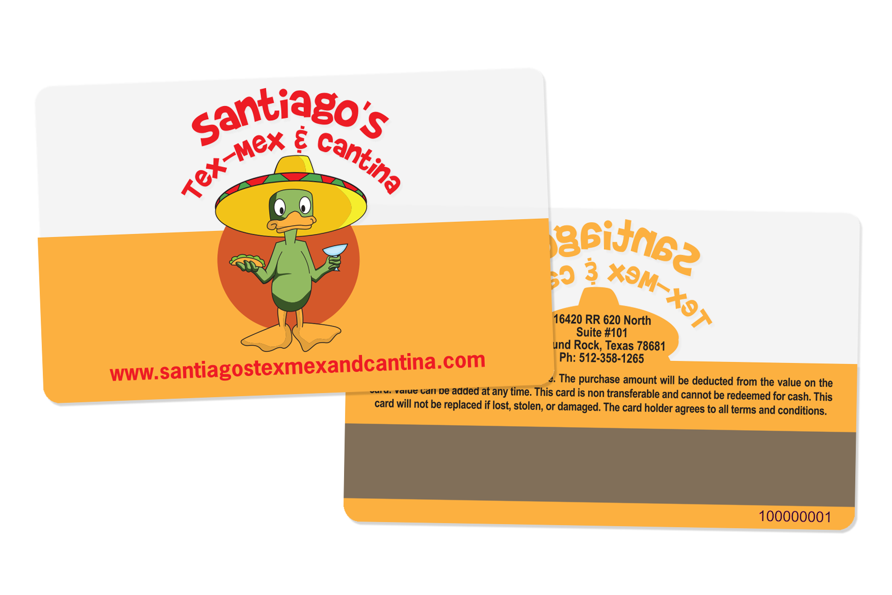 Gift-Card-Frosted-Mag-Stripe-Santiagos-Tex-Mex-HS093771-1