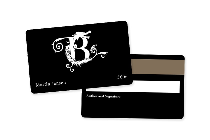 Hotel Key Card with Magnetic Stripes