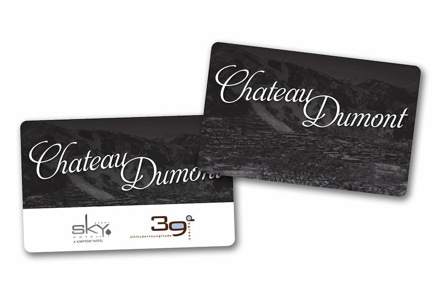 RFID Key Cards for Chateau Dumont Sky Hotel