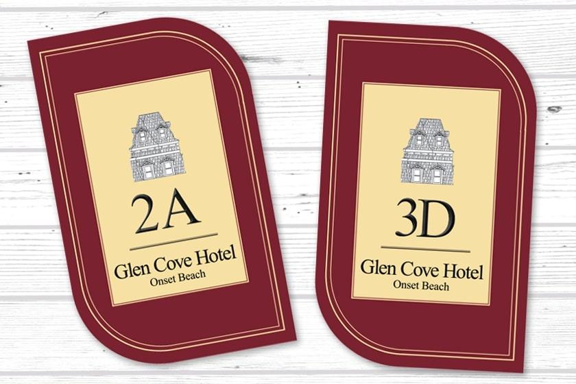 Custom Shape Room Key for your Hotel