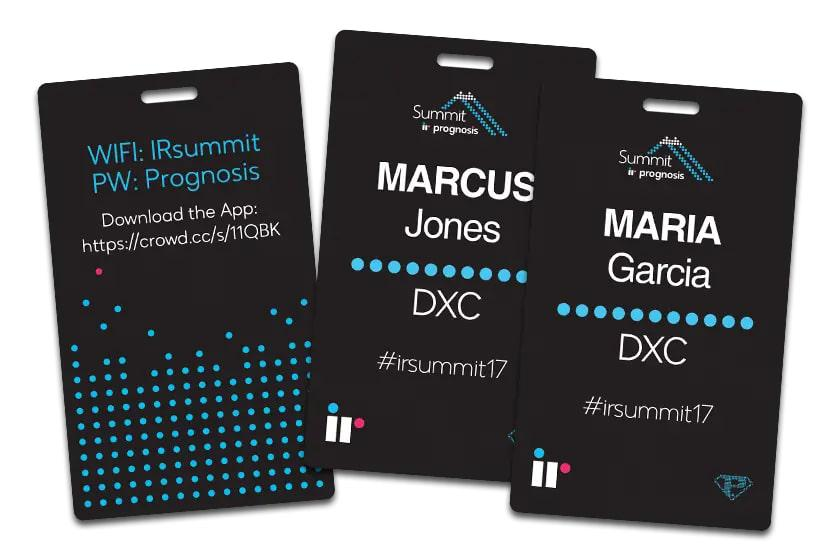 Event Name Badges for IR