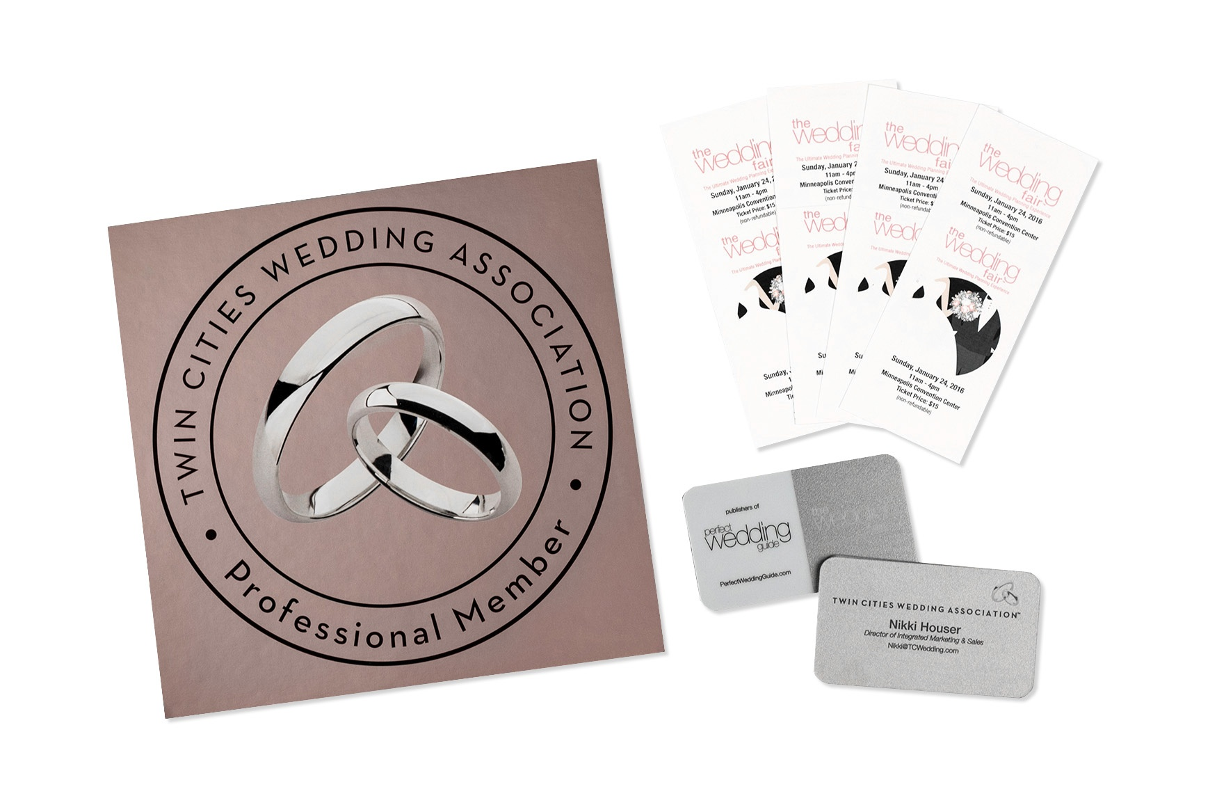 Twin cities wedding association business cards reheart Image collections