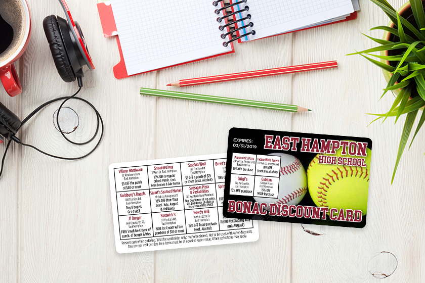 Fundraising Discount Cards for your School