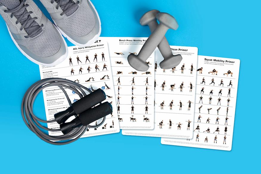 Gym Warm Up Routines for Personal Trainer Clients