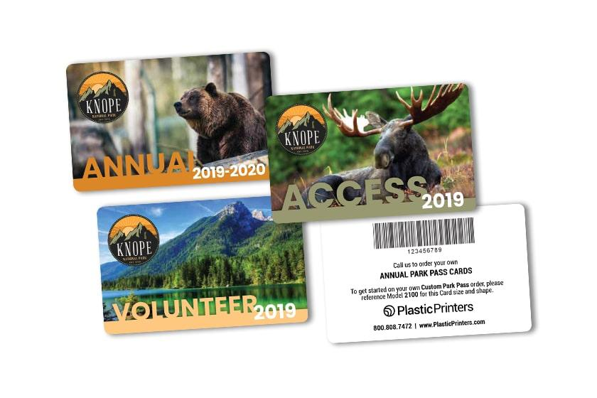 Membership Card Printing for your National Park