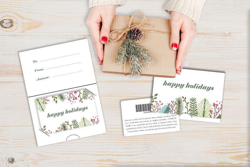 10 Holiday Gift Card Designs You Don't Want to Miss