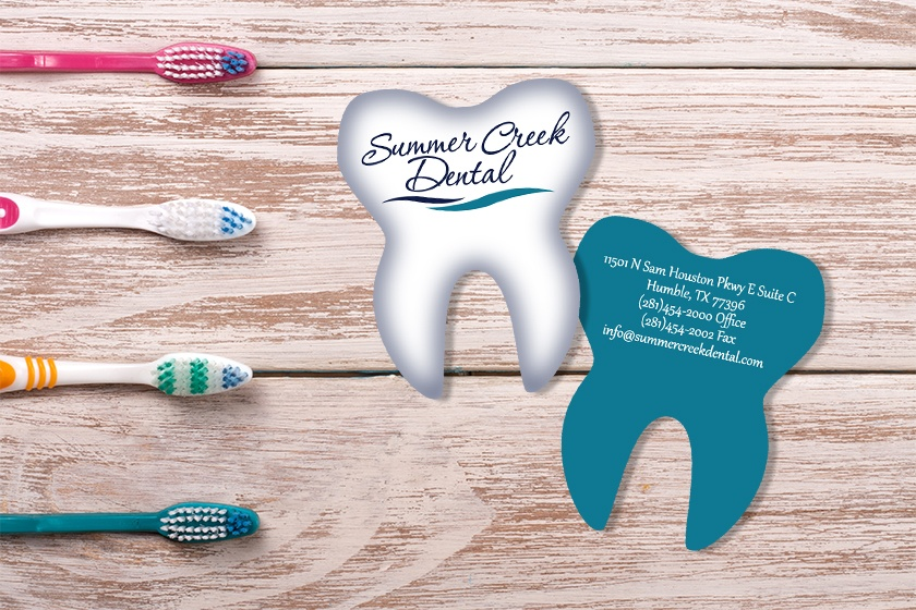 Summer Creek Dental Tooth Shaped