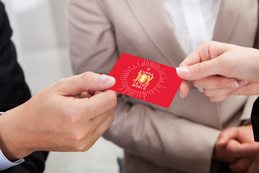 Plastic gift cards can help boost your business