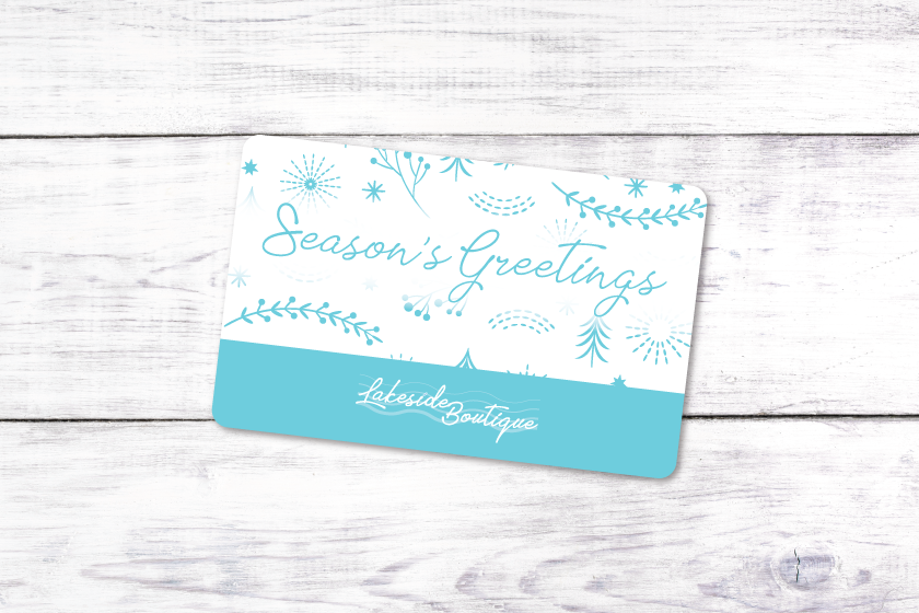 Custom gift cards for the holiday season