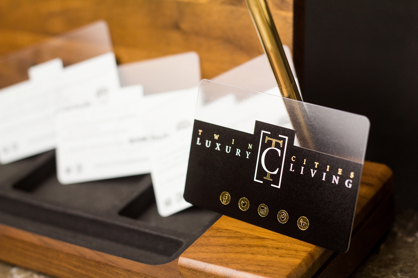 Business Card Testimonial from Twin Cities Luxury Living