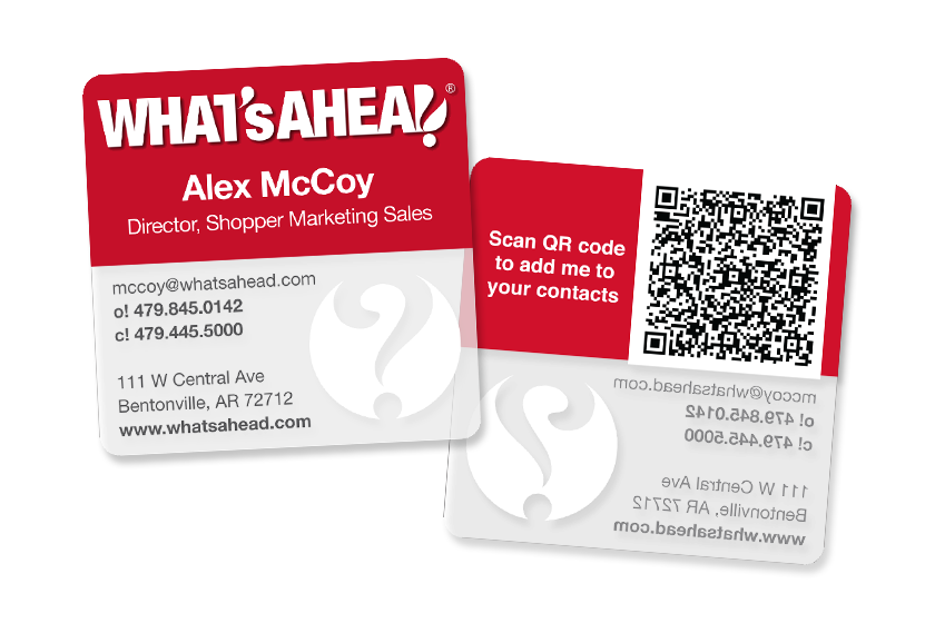 Business-Card-Clear-QR-Code-Whats-Ahead-KT2525-BT086518